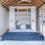 Спалня във вила на Бали