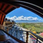 Хотел Хот Спрингс Медикъл и СПА-гледка от балкона