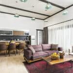 Апартамент с кухня в Хотел Хот Спрингс Медикъл и СПА
