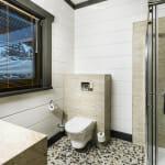 Тоалетните в стаите на Хотел Хот Спрингс Медикъл и СПА