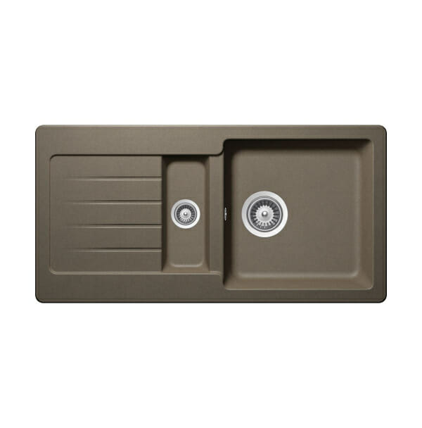 Гранитна мивка за кухня SCHOCK Typos D150S - цвят Alpaca