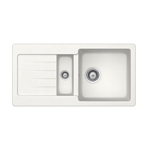 Гранитна мивка за кухня SCHOCK Typos D150S - цвят Alpina