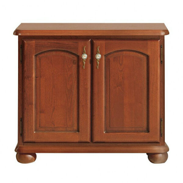 Класически шкаф с 2 дървени вратички Бавария