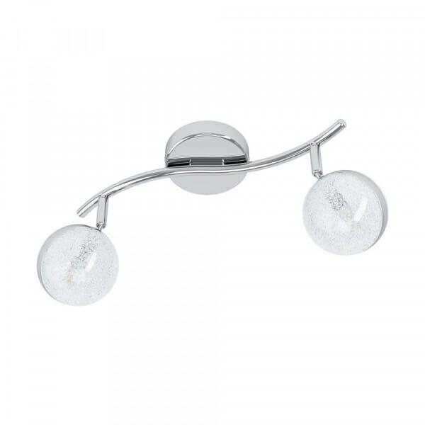 LED спот в хром и бяло Eglo серия Salto 3 (3 варианта) 2 тела