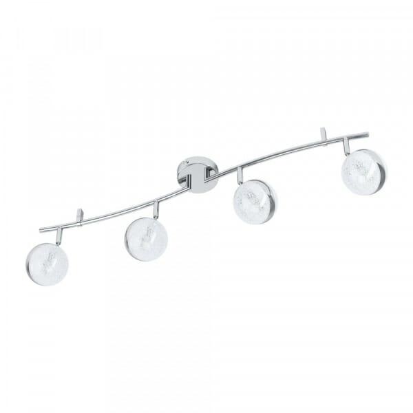 LED спот в хром и бяло Eglo серия Salto 3 (3 варианта) - 4 тела