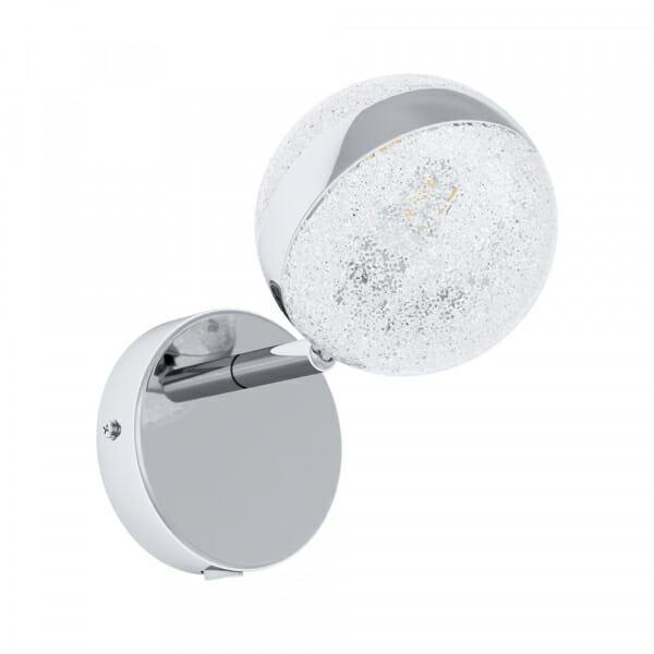 LED спот в хром и бяло Eglo серия Salto 3 (3 варианта)