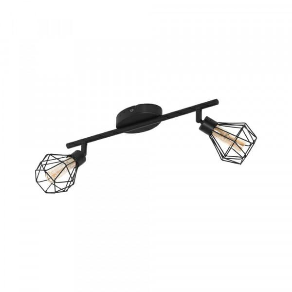 LED спот в индустриален стил Eglo серия Zapata 1 (6 варианта) - 2 тела, черно