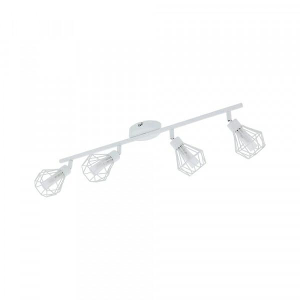 LED спот в индустриален стил Eglo серия Zapata 1 (6 варианта) - 4 тела, бяло
