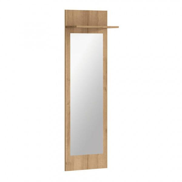Огледало за антре със заден панел и рафт Балдер