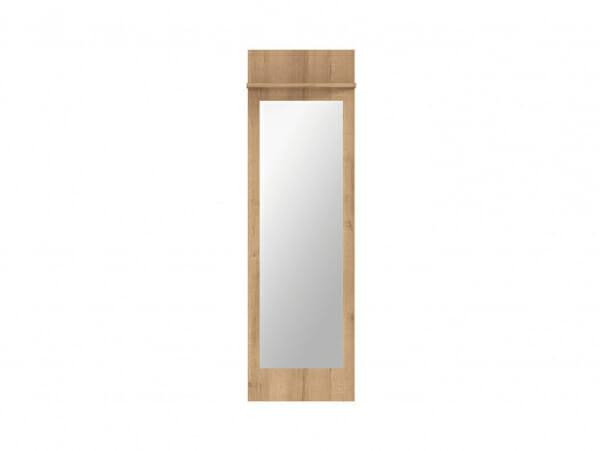 Огледало за антре със заден панел и рафт Балдер - отпред
