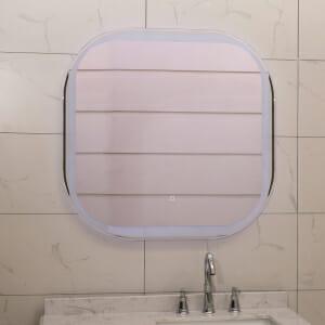 Огледало за баня с вградено LED осветление