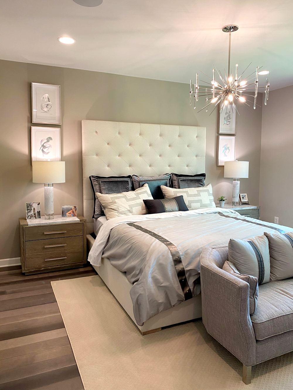 Основно осветление за спалня