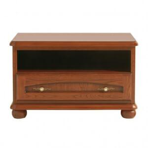 ТВ шкаф с дървено чекмедже Бавария