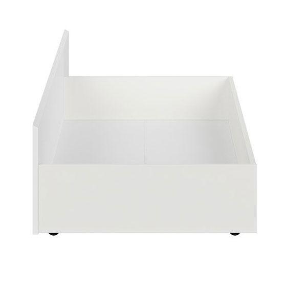 Чекмедже за легло Каспиан Бял - размер 1 - отпред