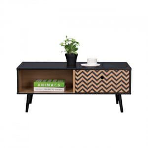 Холна маса с рафт и чекмедже серия Зиги