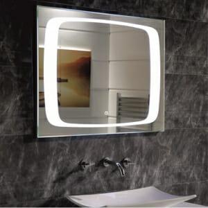 Красиво огледало за баня с вградено LED осветление