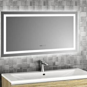 LED огледало с вградена функция против изпотяване