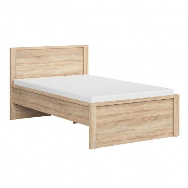 Легло с място за съхранение Каспиан Дъб - размер 1