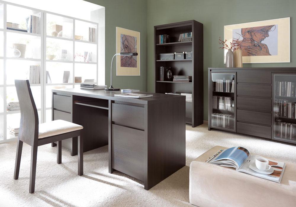 Модулна система Каспиан Венге за домашен офис