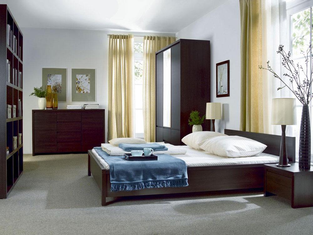 Модулна система Каспиан Венге за спалня