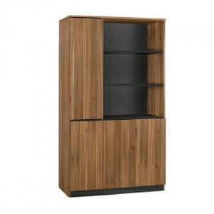 Офис шкаф с три рафта и три вратички серия Супра
