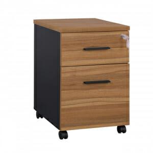 Офис контейнер на колелца с 2 чекмеджета и ключ Супра