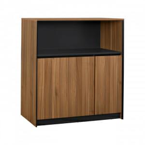 Офис шкаф с три вратички и рафт серия Супра