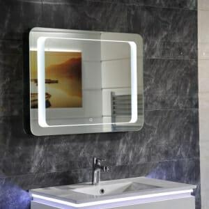 Огледало за баня с LED осветление и нагревател