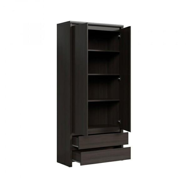 Практичен шкаф с чекмеджета Каспиан Венге - разпределение