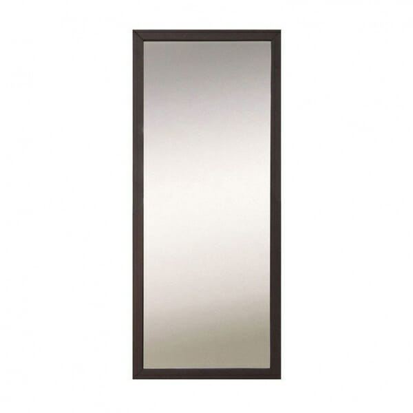 Правоъгълно огледало с тъмна рамка Каспиан Венге
