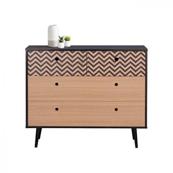 Шкаф с 4 чекмеджета серия Зиги