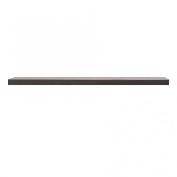 Стенен рафт в тъмен цвят Каспиан Венге - размер 1