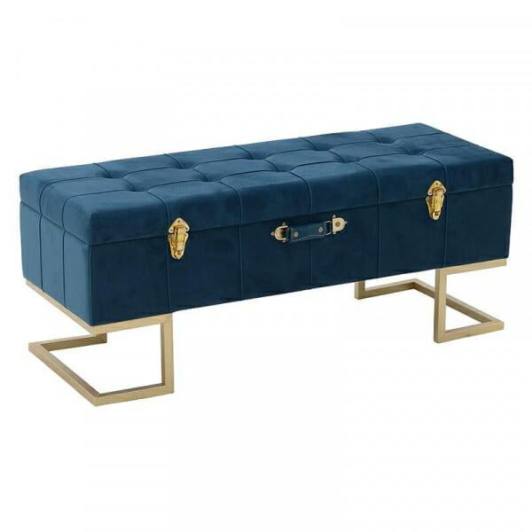 Табуретка под формата на куфар с място за съхранение