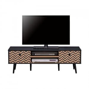 ТВ шкаф с две вратички и рафт серия Зиги