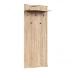 Закачалка за антре в дървесен цвят Каспиан Дъб