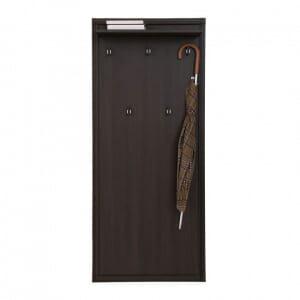 Закачалка за антре в тъмен цвят Каспиан Венге