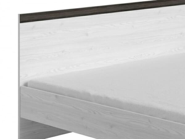 Двойно легло в дървесни тонове Порто - детайл