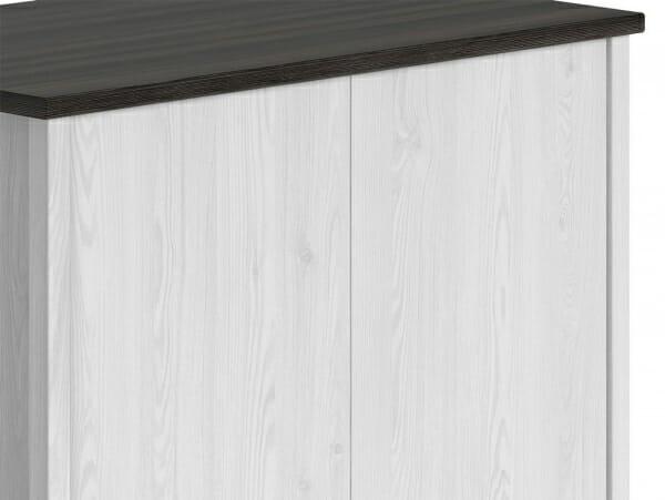Двукрилен гардероб с чекмедже Порто - детайл