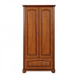 Двукрилен гардероб в класически стил Наталия