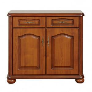 Класически шкаф с 2 чекмеджета и вратички Наталия