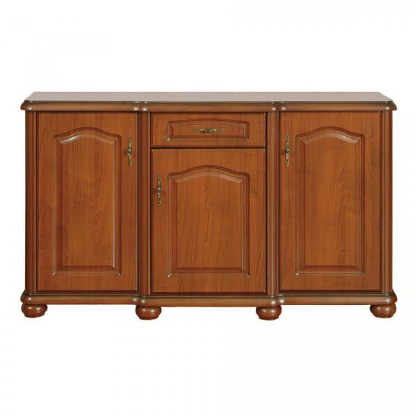 Класически шкаф с чекмедже и 3 вратички Наталия