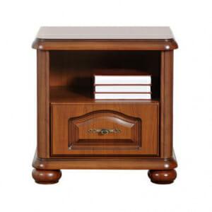 Класическо нощно шкафче с чекмедже Наталия
