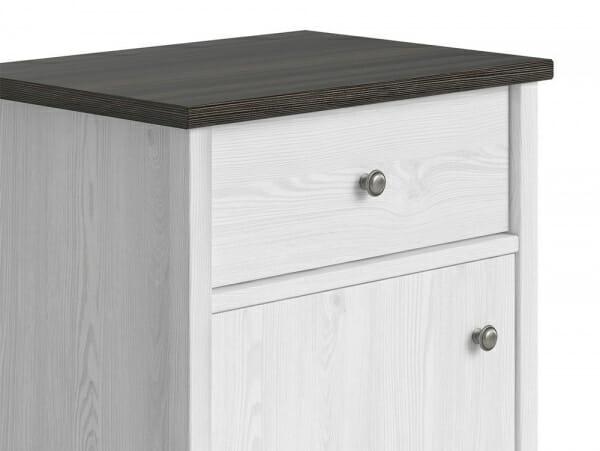 Компактен шкаф за антре с чекмедже Порто - детайл