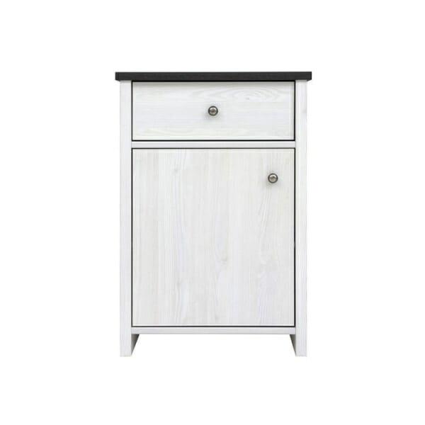 Компактен шкаф за антре с чекмедже Порто - отпред