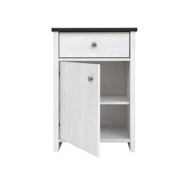 Компактен шкаф за антре с чекмедже Порто - разпределение