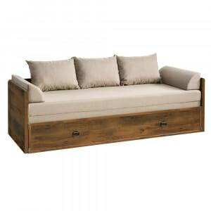Легло кушетка с удължение Индиана -дъб сутер
