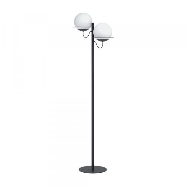 Метален лампион в бяло и черно Eglo серия Sabalete