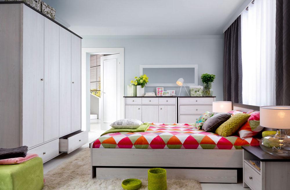 Модулна система за спалня Порто
