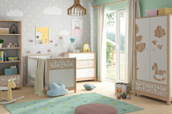 Модулна система за детска стая Тимон