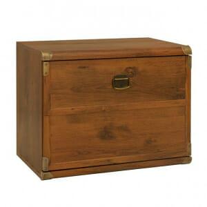 Нисък шкаф с падаща вратичка Индиана - дъб сутер